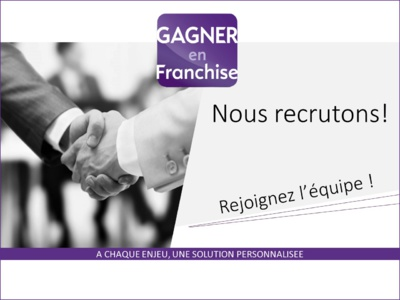 Nous recrutons des consultants recrutement en franchise, près de chez vous sur toute la France