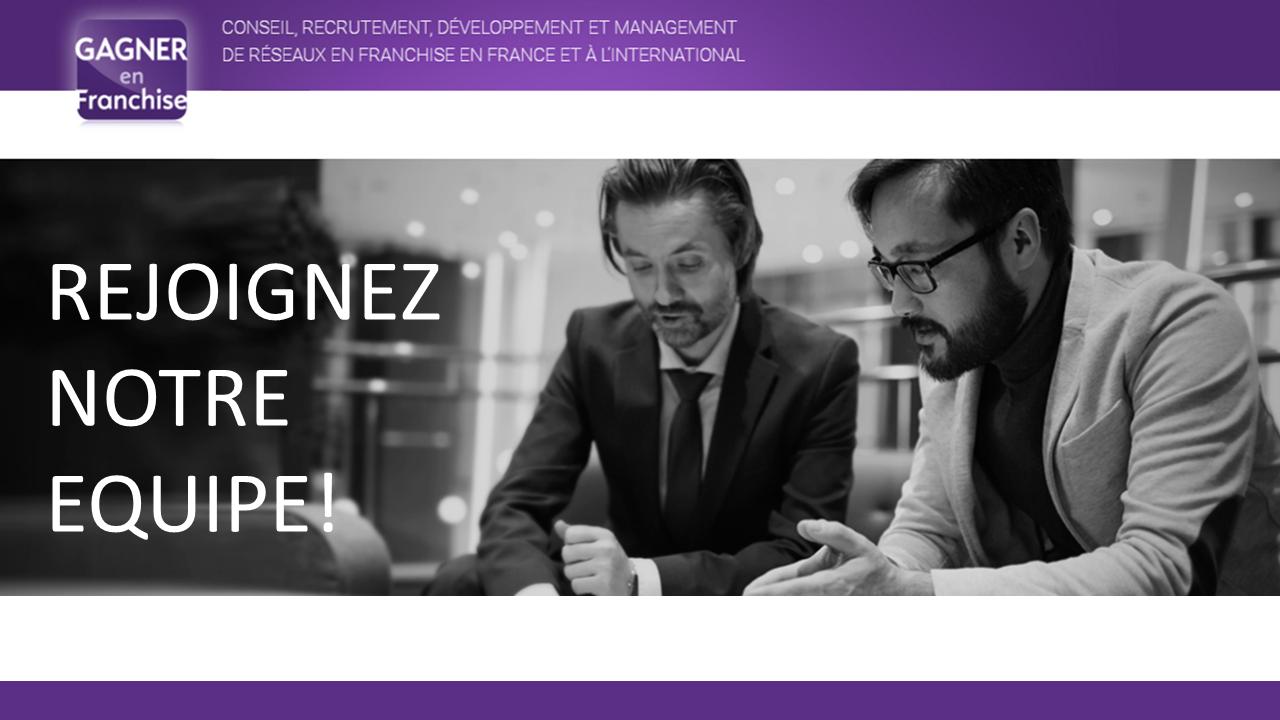 Nous recherchons des consultants indépendants en recrutement de franchisés, près de chez vous sur toute la France!