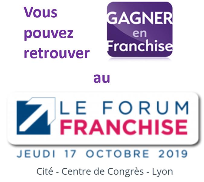 Le Forum de la Franchise - 17 octobre 2019 - Lyon